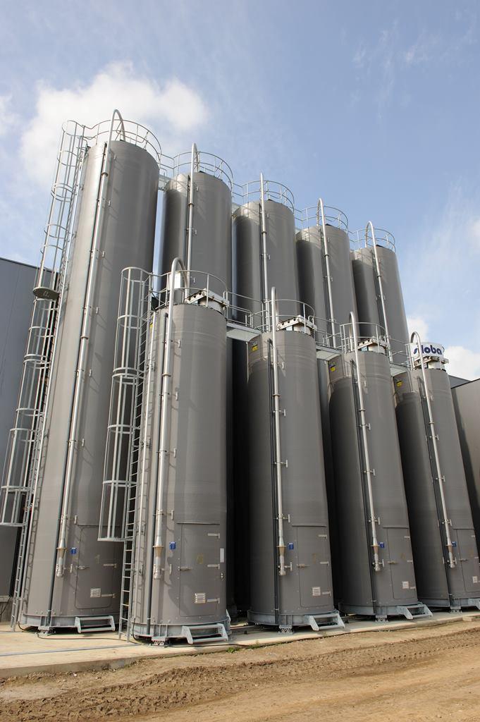 polyester silo buiten 3